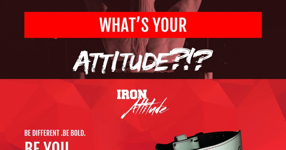 Iron Attitude Belts
